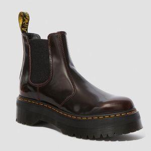 Dr. Martens Platform Chelsea Boots (NEVER USED)